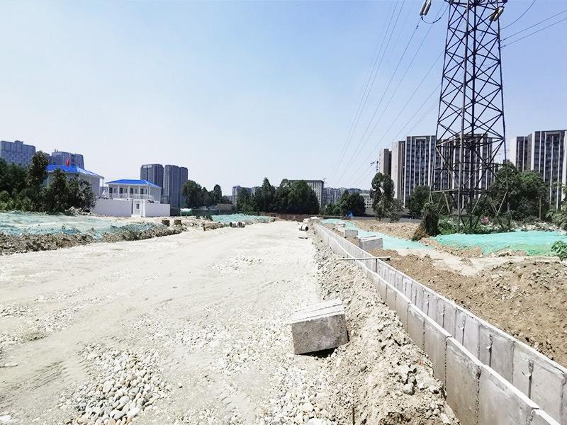 龙泉驿区十陵片区(一、二期)、洪柳片区及金牛片区互助村片区市政道排工程等基础设施配套项目施工二标段