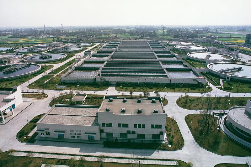 成都市污水处理厂二期(获鲁班奖工程)