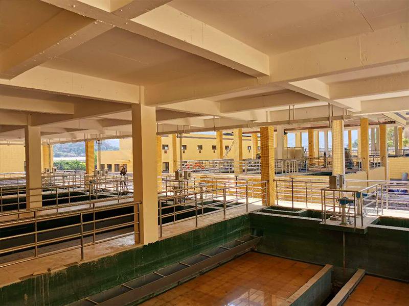 米易白馬工業園區一枝山功能區工業集中式污水處理廠項目設計-采購-施工EPC總承包工程