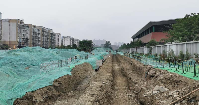 大學路北段道路及管線工程