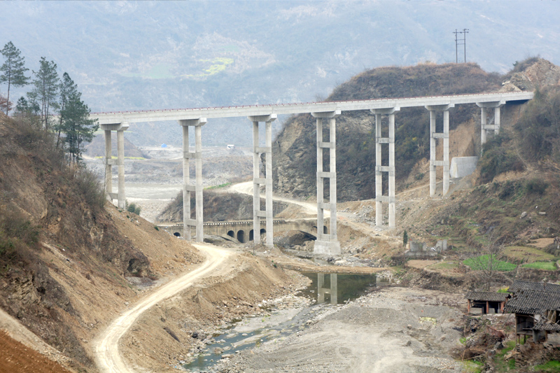 绵阳市平武煽铁沟大桥工程