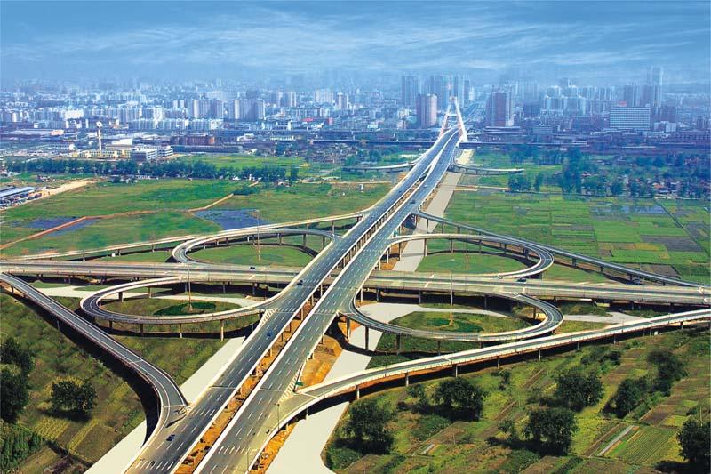 成都市天府立交桥工程