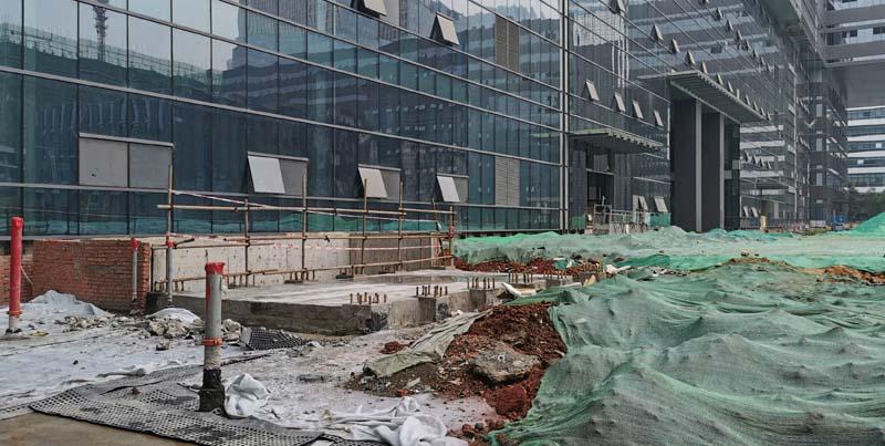 中国建设银行成都生产基地项目室外总体工程